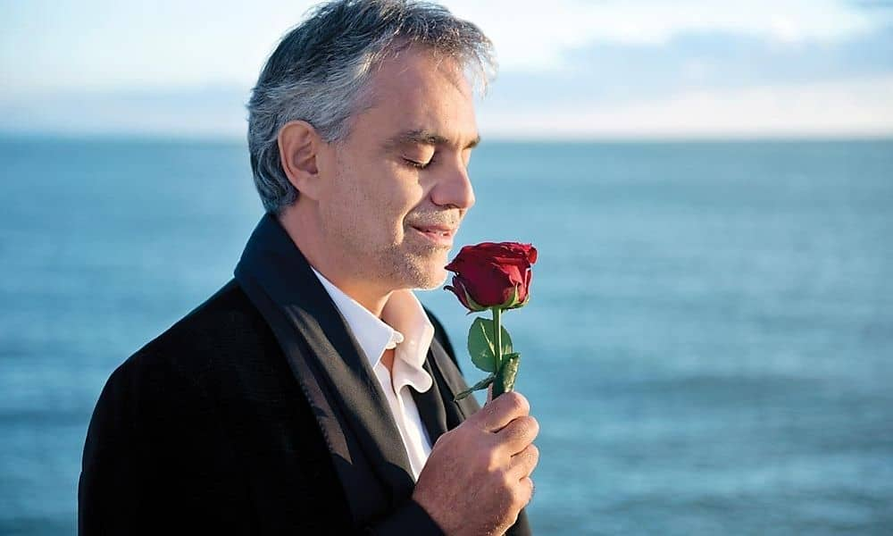 Tenorul Andrea Bocelli - concert in premiera la Cluj