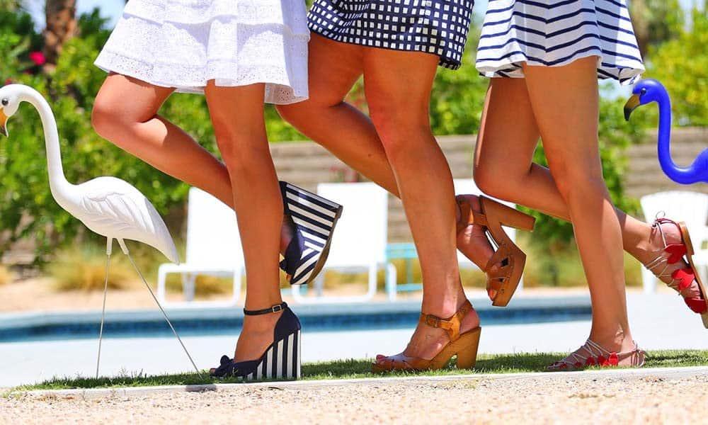 Cinci modele de incaltaminte la moda in vara 2017