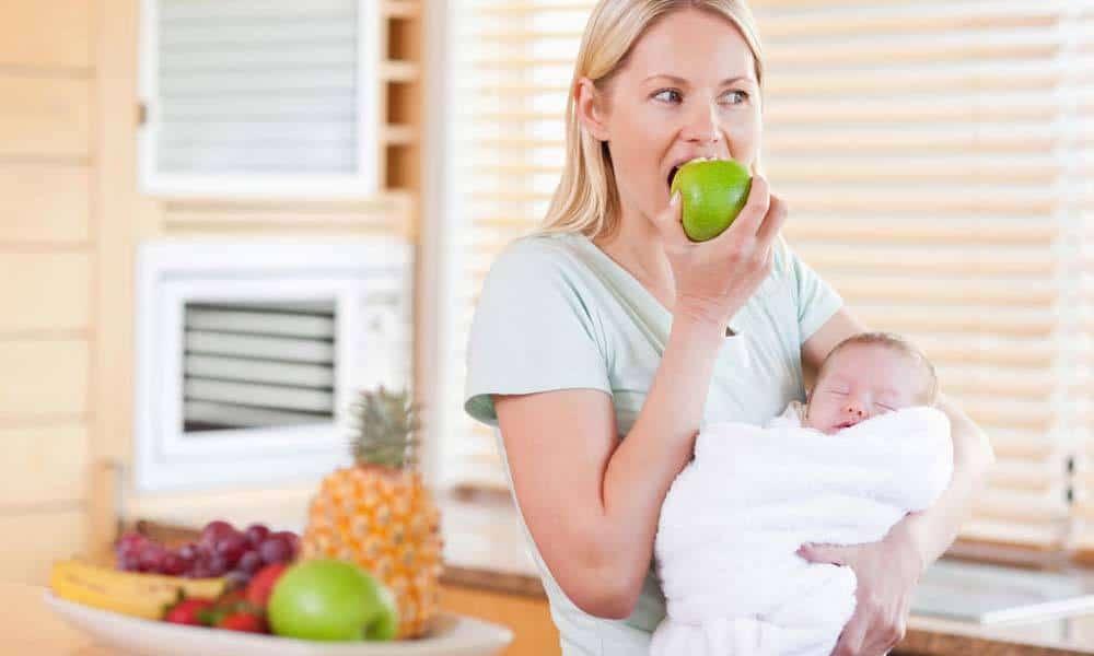 Cele mai potrivite alimente dupa nasterea bebelusului
