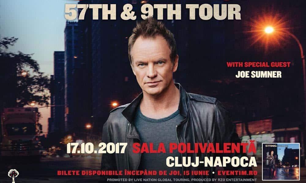 Premiera la Cluj: Sting va sustine un concert in octombrie, la Sala Polivalenta