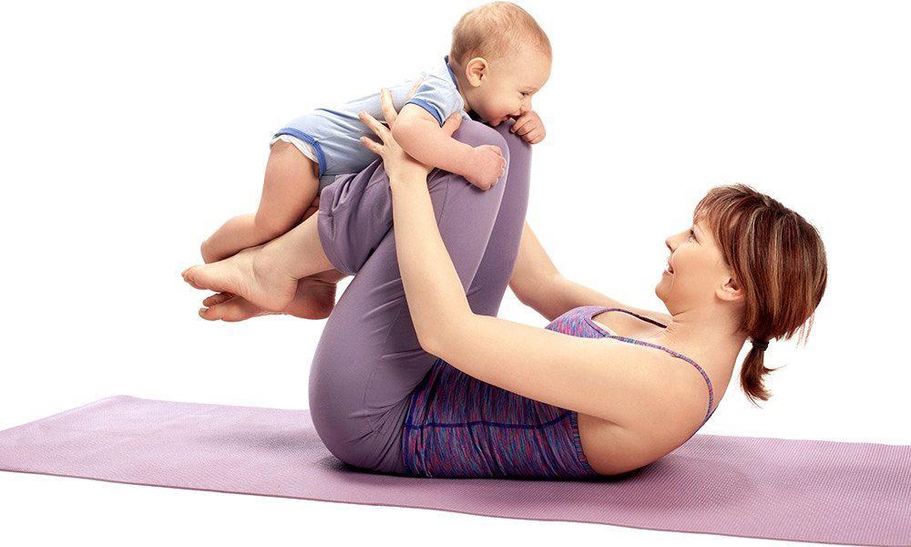 Cum sa fii o tanara mamica in forma