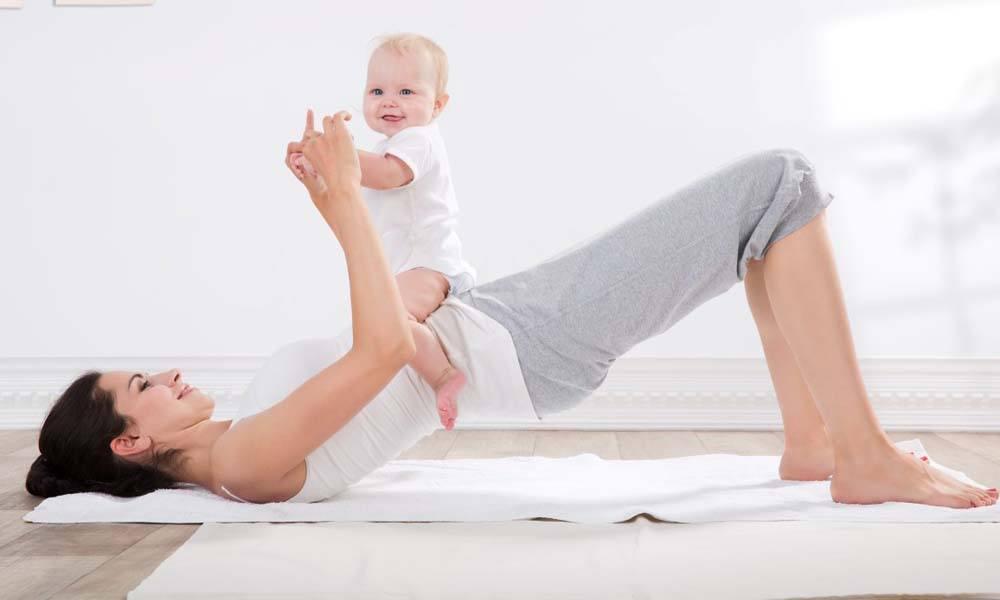 Cum sa intrii in forma dupa nasterea bebelusului