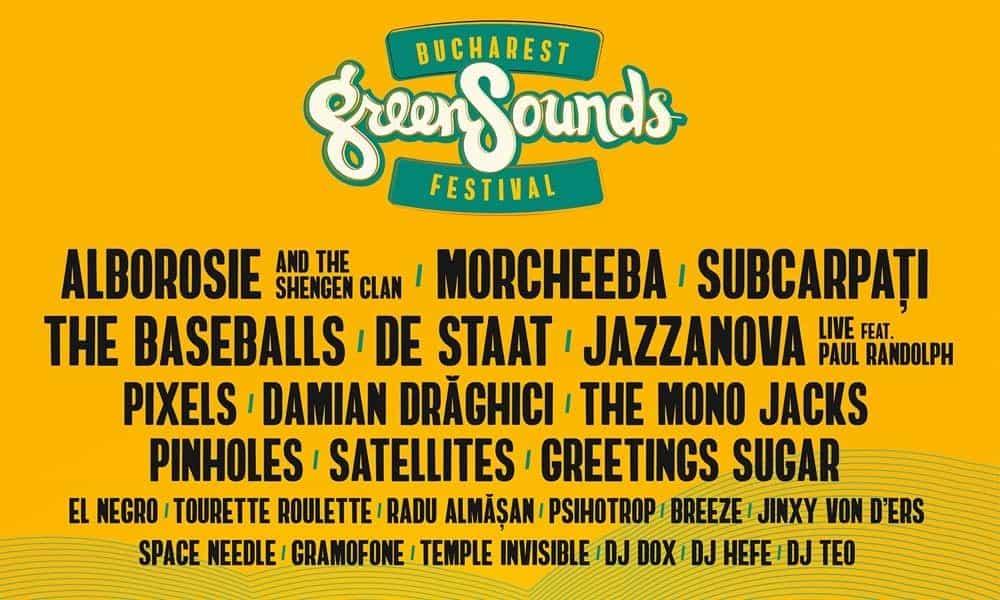Bucharest GreenSounds Festival revine in Parcul Herastrau
