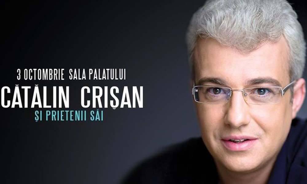 Concert aniversar Catalin Crisan, la Sala Palatului