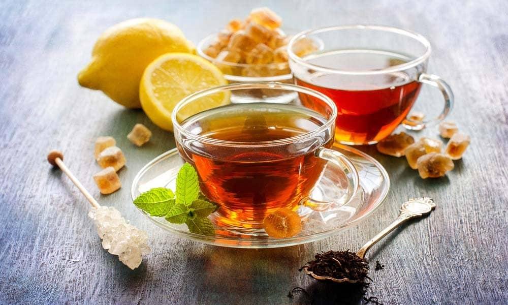 Ceaiul este benefic si in timpul verii