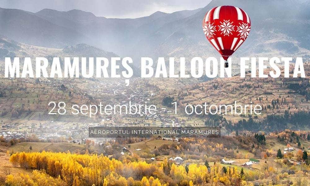 Maramures Balloon Fiesta, sesiuni de zbor cu balonul cu aer cald