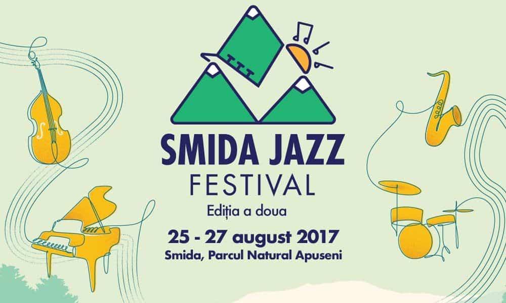 Muzica buna in inima Apusenilor. Cine canta la Smida Jazz Festival 2017