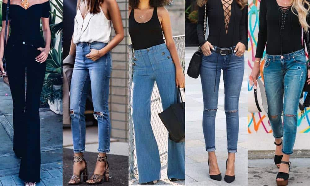 Pantaloni cu talie inalta versus pantaloni cu talie joasa