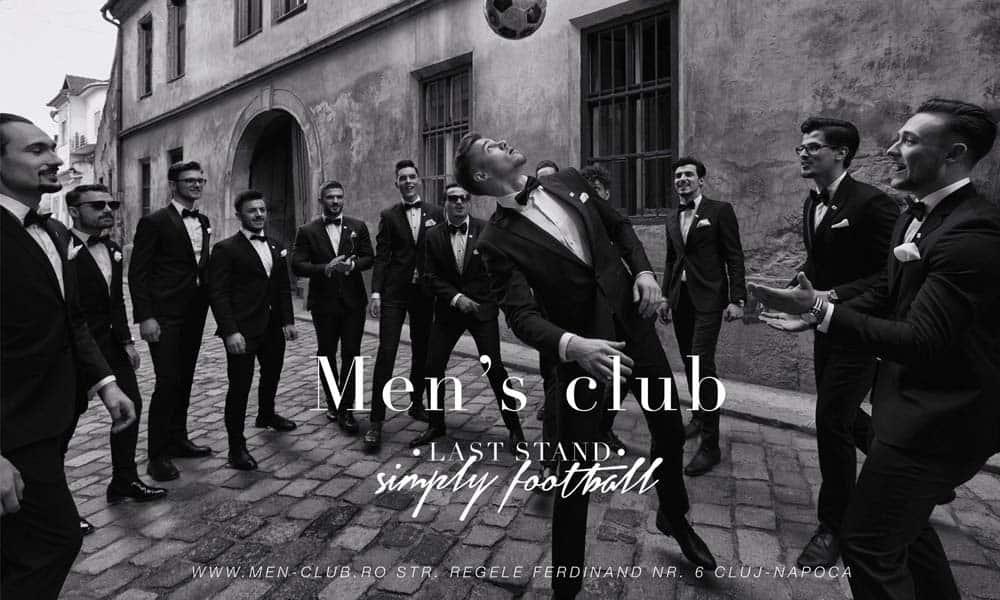 Men's Club tine pasul cu tendintele modei masculine