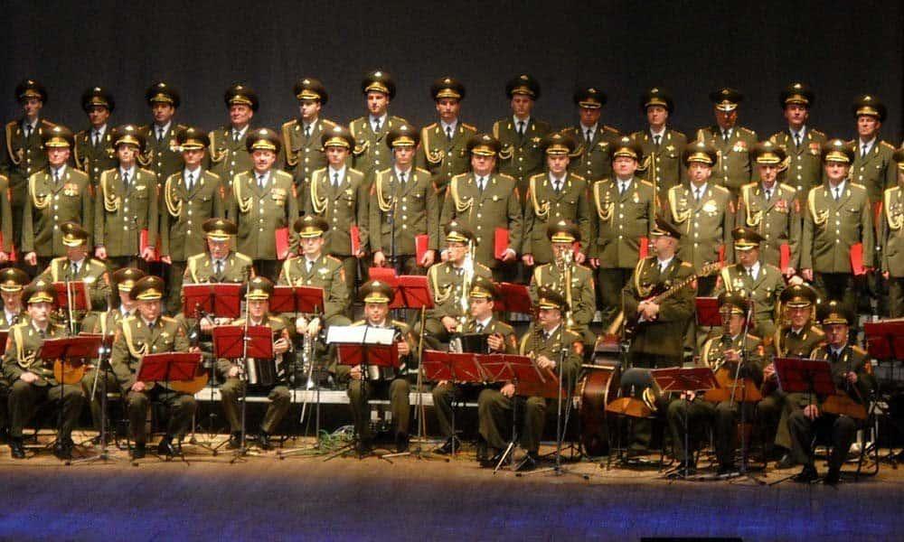 Corul Armatei Rosii va sustine in noiembrie un concert memorabil la Bucuresti
