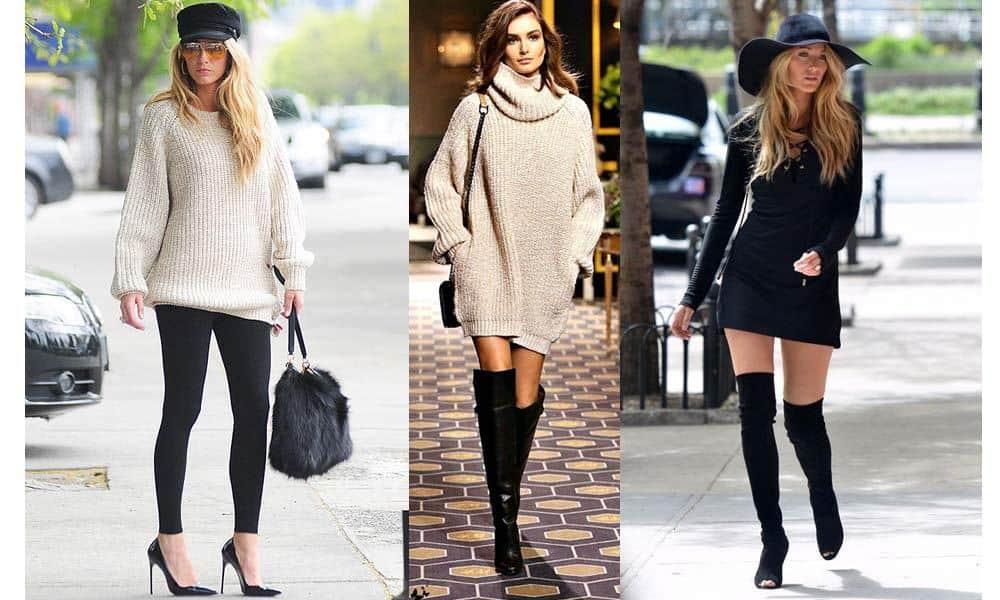 Cum porti puloverul in aceasta iarna