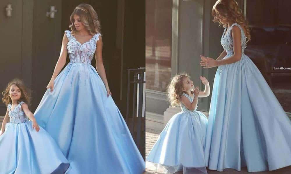 Ce modele de rochii mama-fiica se poarta in toamna aceasta