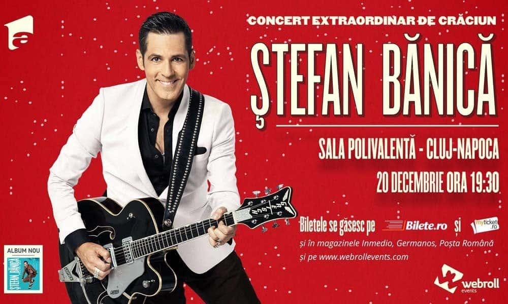 Stefan Banica Jr. isi continua si in acest an Concertul Extraordinar de Craciun