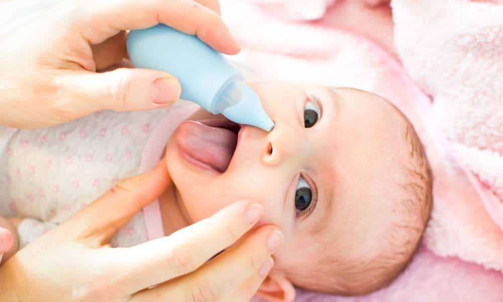 Cum procedati cand bebelusul are nasul infundat