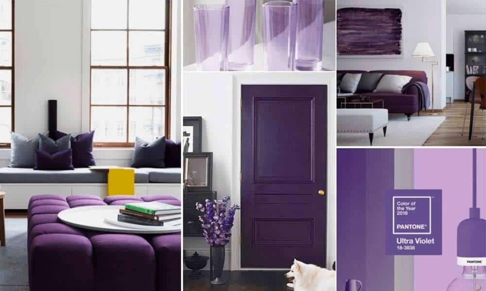 Cum sa iti decorezi casa cu Ultra Violet, culoarea anului