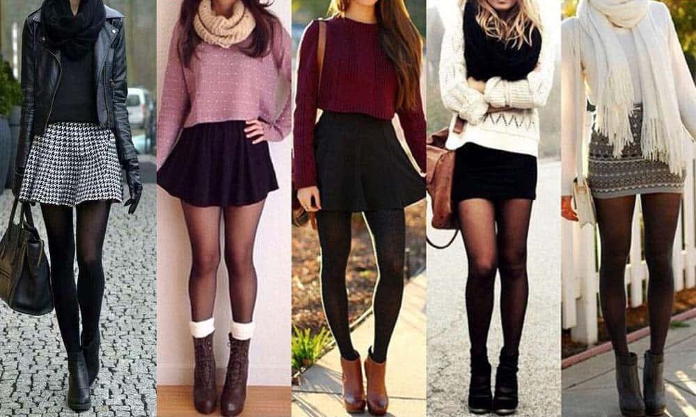Cum sa porti fusta mini iarna